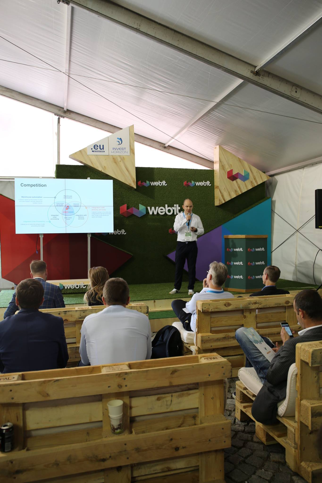 WebIT Festival Europe '17 first day.